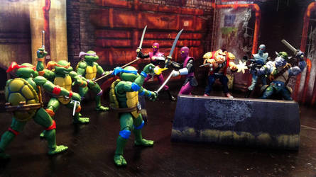 Fightin in da Sewers by CandyKappa