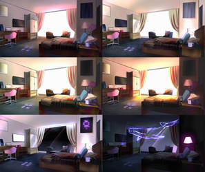 Interior and Lighting practice by ORCus51