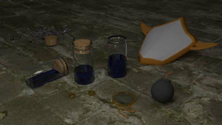 Crystal Story II Items by ExcaliburZero