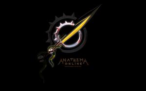 AO: Logo Wallpaper Black by Khalo