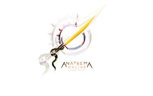 AO: Logo Wallpaper White by Khalo