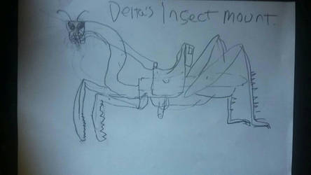 Breakout Stars Creature Concept: Insect Mount by bigfootRULES