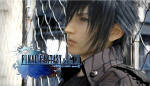 Noctis's gaze by EndlessSkyy
