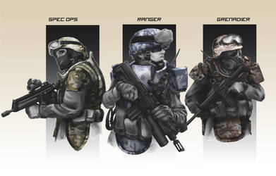 Near Future Infantry by hiteklolife