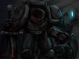 Nameless Marine by tyrantwache