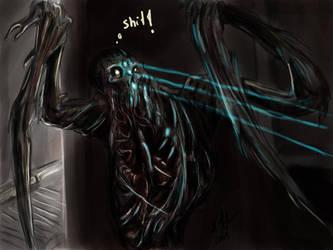 Necromorph by tyrantwache