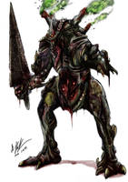 Plaguebearer by tyrantwache