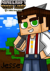 Jesse(male)(Minecraft story mode)w/ name by Edimay