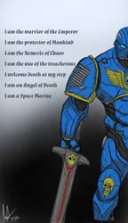 Space Marine by The--Filipino--Dude