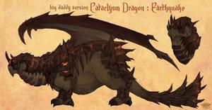 Earthquake Dragon by LisaCunha