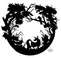 Fox and Crow by LisaCunha