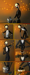 Marionette's Halloween by Leda456