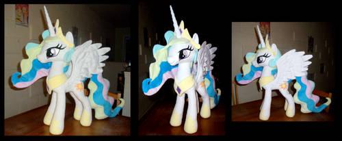 Princess Celestia V2 by fireflytwinkletoes