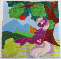 Cheerliee Quilt Square by fireflytwinkletoes