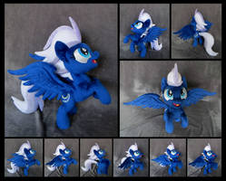 Night Glider - Up into the blue sky! by fireflytwinkletoes