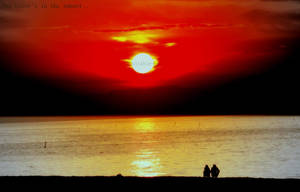 Two Lover's in the sunset.. by SkT0330