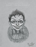 Peeves The Poltergeist - Sketch by Emmanuel-Oquendo