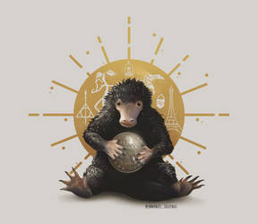 Niffler. The Crimes of Grindelwald. by Emmanuel-Oquendo