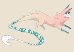 Peach Kitsune - [ CLOSED ] by pavame-agarestia