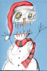 Snowman by Silverware13