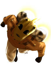 The Rocketeer by AlexKnight