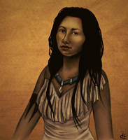Princess Collect. - Pocahontas by hypercrabby