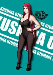 Kushina Uzumaki Sexy by joaomarcosseguramill