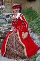 Lady In Red by ladylucrezia