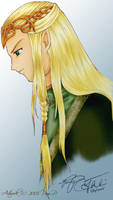 The King of Mirkwood by ladylucrezia