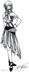 Random fashion design by ladylucrezia