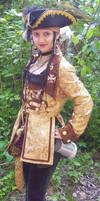 Gold Pirate Full by ladylucrezia