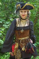 Gold Pirate Accessories by ladylucrezia