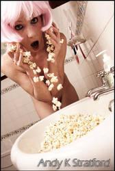 Popcorn Splash by GoldenMonkee