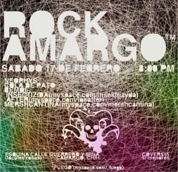 ROCK AMARGO by amoxtli