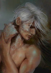 White Horse by Shasmy
