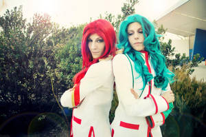 REVOLUTIONARY GIRL UTENA: Of red and green. by aibashi