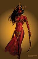 Dejah Thoris, Princess of Helium by ScaleyScribe