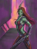 Gamora by ScaleyScribe