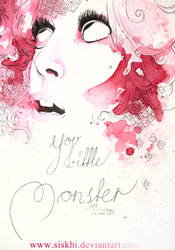 You Little Monster - Lady Gaga by SiljaVich