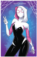 Spider-Gwen by Lee Xopher by leexopher