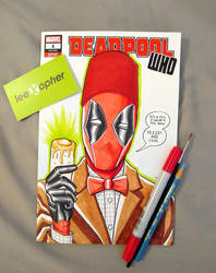 Deadpool Doctor Who Mashup by Lee Xopher by leexopher