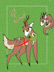 Is that A reindeer?!{Auction CLOSED} by Pheonix-kid980