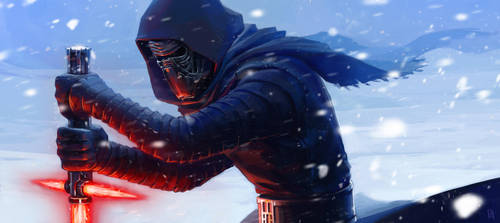 Kylo Ren by Koni-art