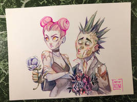 Zombie in love by Koni-art