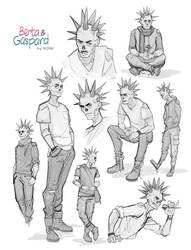 Gaspard - Doodles 01 by Koni-art