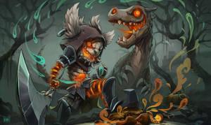 Kled, Soul Eater by Koni-art