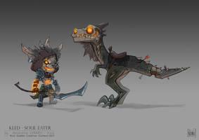Kled, Soul Eater - Concept Art by Koni-art