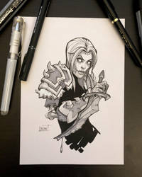 Inktober 2018 - Day1 - Poisonous by Koni-art