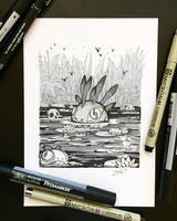 Inktober 2018 - Day23 - Muddy by Koni-art