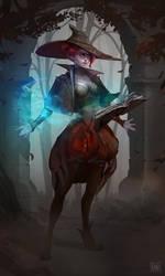 Berta Witch by Koni-art